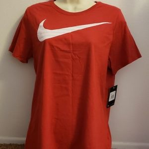 New Nike Tee XL Athletic Cut Red T Shirt